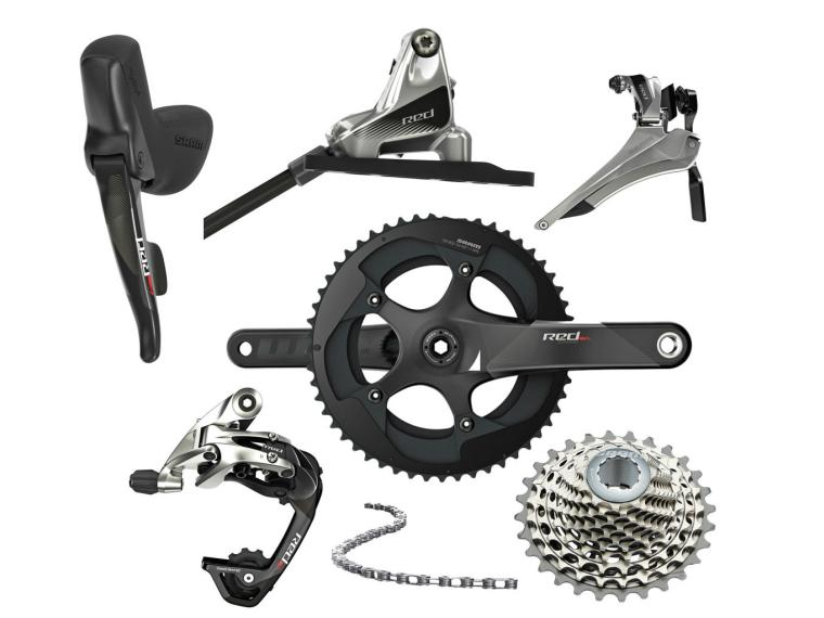 Sram Red 22 HRD Disc Groupset