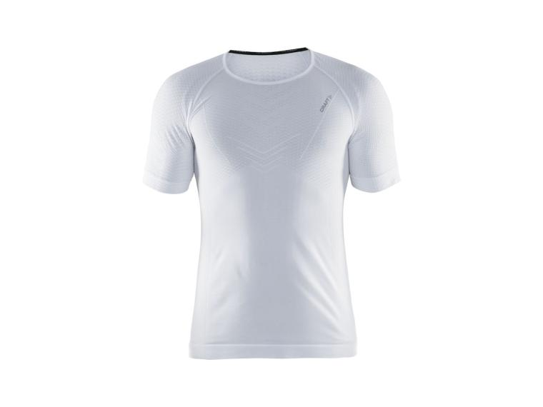Maillot de Corps Manches Courtes Craft Cool Intensity RN SS Blanc