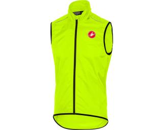 Castelli Squadra Vest Windbreaker Yellow
