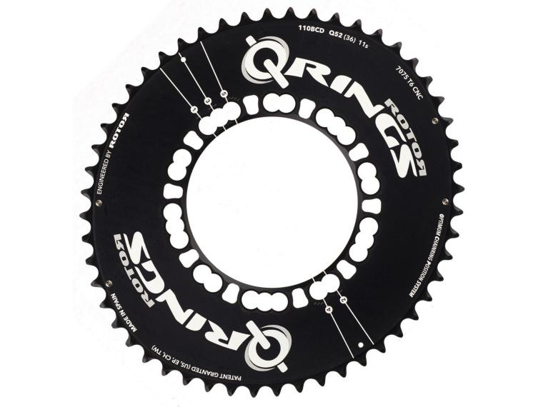 Rotor Q-Ring Aero 11 speed Kettingblad Buitenblad