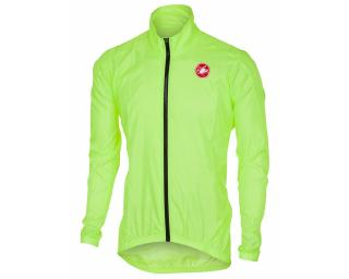 Castelli Squadra Windbreaker Yellow