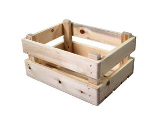 Basil Transport Crate Wood Mini