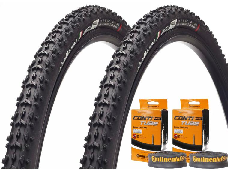Challenge Grifo Race set + Continental inner tubes Tyre