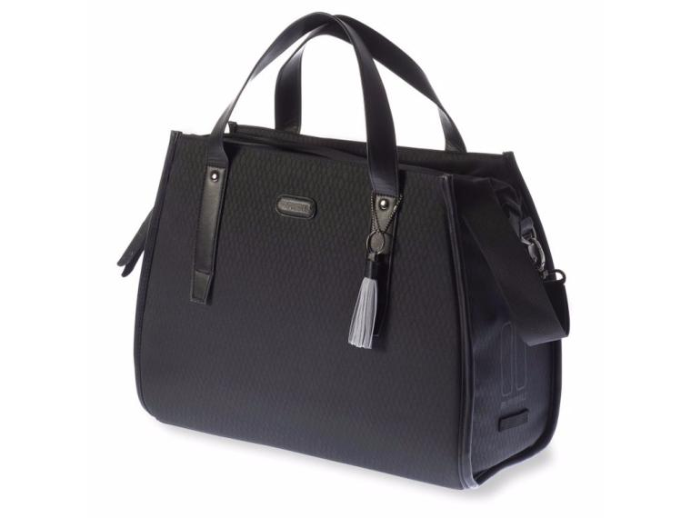 Basil Noir Business Bag Pannier