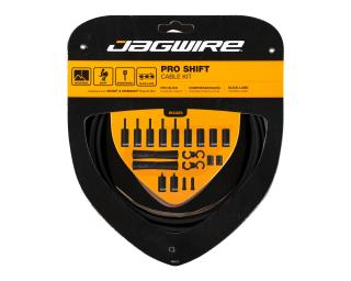 Jagwire 2x Pro Shift Derailleur Cable Kit Black