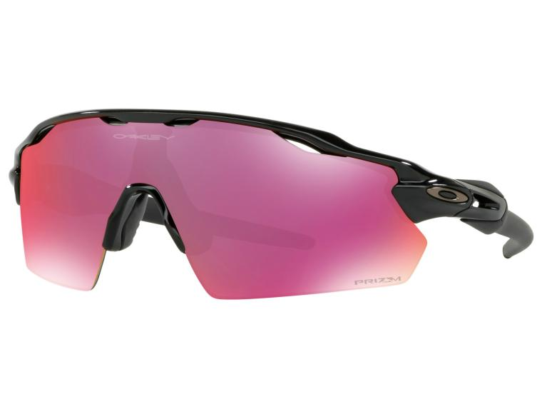 Oakley Radar EV Prizm Field Cycling Glasses Polished Black