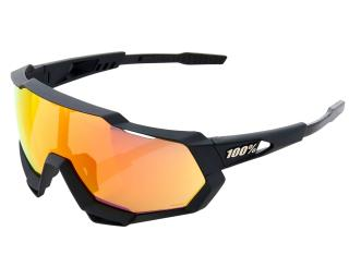 100% Speedtrap HiPER Cycling Glasses Red / Black
