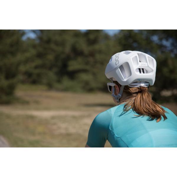POC Ventral Air SPIN Helmet Matte Hydrogen White Small