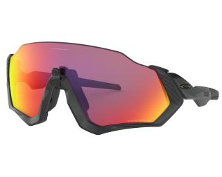 Oakley Flight Jacket Prizm Road Fietsbril Zwart