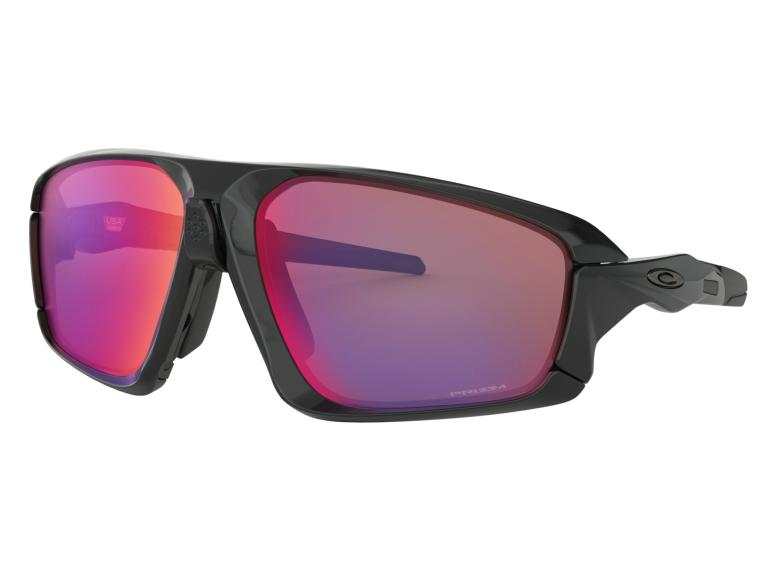 Oakley Field Jacket Prizm Road Cycling Glasses Polished Black