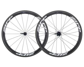 Zipp 303 Firecrest Carbon Clincher Road Bike Wheels Set / White