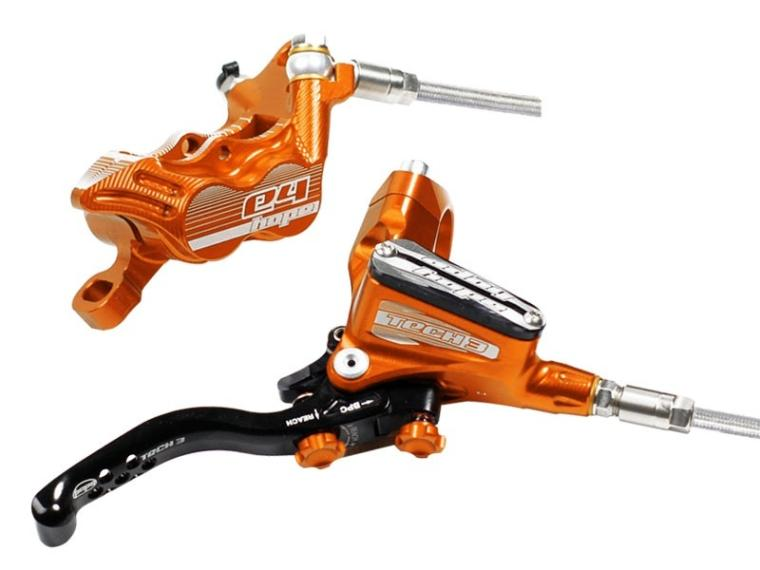 Hope Tech 3 E4 Skivebremse Orange