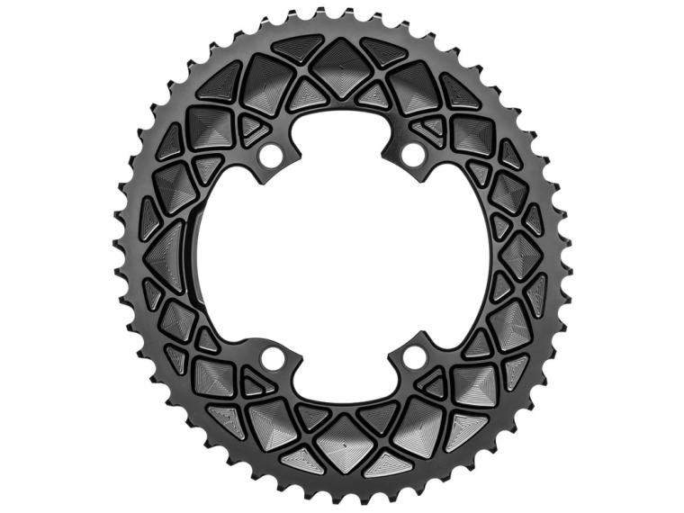 AbsoluteBLACK Premium Oval Road R9100 & R8000 Chainring Outer Ring