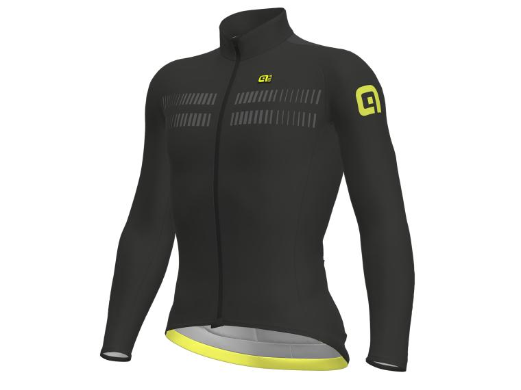 Alé Clima Protection 2.0 Warm Air Jersey Black